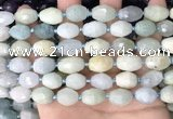 CNG8513 15.5 inches 10*12mm - 11*16mm faceted nuggets aquamarine beads