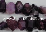CNG852 15.5 inches 12*18mm – 13*22mm faceted nuggets agate beads