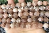 CNG8755 15.5 inches 12mm faceted nuggets moonstone beads wholesale
