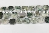 CNG8820 15.5 inches 16mm - 20mm faceted freeform jade beads