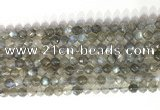 CNG9055 15.5 inches 6mm faceted nuggets labradorite gemstone beads