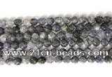 CNG9059 15.5 inches 8mm faceted nuggets iolite gemstone beads