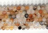 CNG9078 15.5 inches 8mm faceted nuggets agate gemstone beads