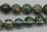 CNI05 16 inches 12mm round natural imperial jasper beads wholesale