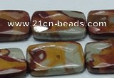 CNJ14 15.5 inches 22*30mm faceted rectangle natural noreena jasper beads