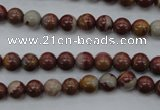 CNJ66 15.5 inches 6mm round noreena jasper beads wholesale