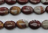CNJ75 15.5 inches 10*14mm oval noreena jasper beads wholesale