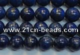CNL1050 15.5 inches 7.5mm - 8mm round B grade natural lapis lazuli beads