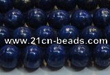 CNL1052 15.5 inches 7.5mm - 8mm round AB grade natural lapis lazuli beads