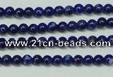 CNL1250 15.5 inches 3mm round natural lapis lazuli beads