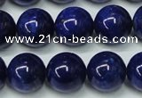 CNL1254 15.5 inches 10mm round natural lapis lazuli beads