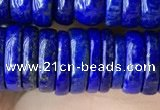 CNL1696 15.5 inches 3*10mm - 4*10mm rondelle lapis lazuli beads