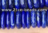 CNL1698 15.5 inches 3*10mm - 4*10mm rondelle lapis lazuli beads