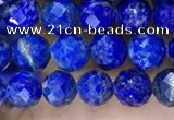 CNL1715 15.5 inches 5mm faceted round lapis lazuli beads