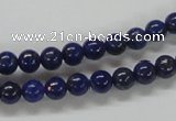CNL205 15.5 inches 6mm round natural lapis lazuli beads wholesale