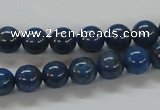 CNL208 15.5 inches 8mm round natural lapis lazuli beads wholesale