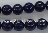 CNL226 15.5 inches 12mm round AAA grade natural lapis lazuli beads