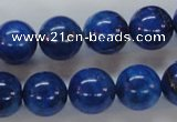 CNL231 15.5 inches 14mm round natural lapis lazuli beads wholesale