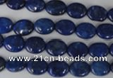 CNL478 15.5 inches 8*10mm oval natural lapis lazuli gemstone beads