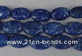 CNL480 15.5 inches 9*13mm oval natural lapis lazuli gemstone beads