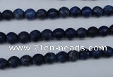 CNL601 15.5 inches 6mm faceted round natural lapis lazuli gemstone beads