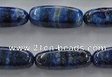 CNL642 15.5 inches 10*28mm marquise natural lapis lazuli beads