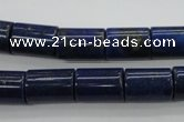 CNL887 15.5 inches 10*14mm tube natural lapis lazuli gemstone beads
