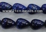 CNL902 15.5 inches 12*16mm teardrop natural lapis lazuli gemstone beads