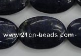 CNL946 15.5 inches 20*30mm oval natural lapis lazuli gemstone beads