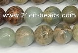 CNS331 15.5 inches 6mm round serpentine jasper beads wholesale