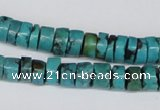 CNT23 16 inches 4-9mm heishi natural turquoise beads wholesale