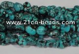 CNT240 15.5 inches 4*5mm - 5*8mm nuggets natural turquoise beads