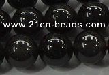 COB602 15.5 inches 10mm round ice black obsidian beads wholesale