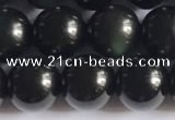 COB722 15.5 inches 8mm round black obsidian gemstone beads