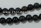 COJ302 15.5 inches 8mm round Indian bloodstone beads wholesale