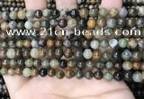 COJ491 15.5 inches 6mm round ocean jade beads wholesale