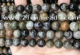 COJ494 15.5 inches 12mm round ocean jade beads wholesale