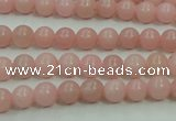 COP1211 15.5 inches 6mm round Chinese pink opal gemstone beads