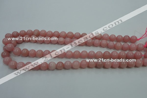 COP1213 15.5 inches 10mm round Chinese pink opal gemstone beads