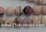 COP1253 15.5 inches 10mm round natural pink opal gemstone beads