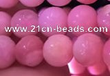 COP1527 15.5 inches 7mm round natural pink opal gemstone beads
