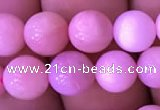 COP1528 15.5 inches 8mm round natural pink opal gemstone beads