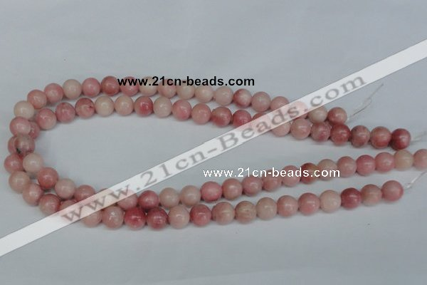 COP153 15.5 inches 10mm round pink opal gemstone beads wholesale