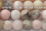 COP1702 15.5 inches 6mm round natural pink opal gemstone beads