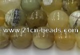 COP1736 15.5 inches 8mm round yellow opal beads wholesale