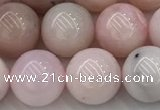 COP1782 15.5 inches 10mm round pink opal gemstone beads