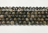 COP1802 15.5 inches 8mm round grey opal beads wholesale