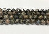 COP1804 15.5 inches 12mm round grey opal beads wholesale