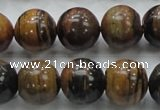 COP223 15.5 inches 14mm round natural brown opal gemstone beads