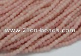 COP400 15.5 inches 3mm round Chinese pink opal gemstone beads